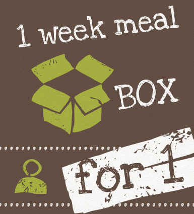 1 week Meal Box for 1