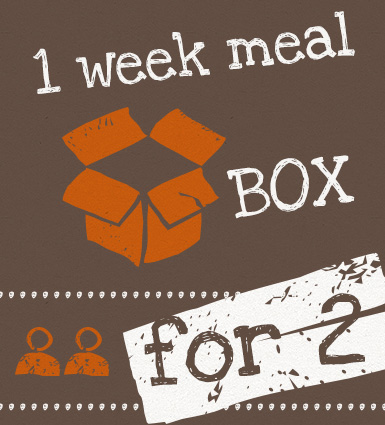 1 week Meal Box for 2