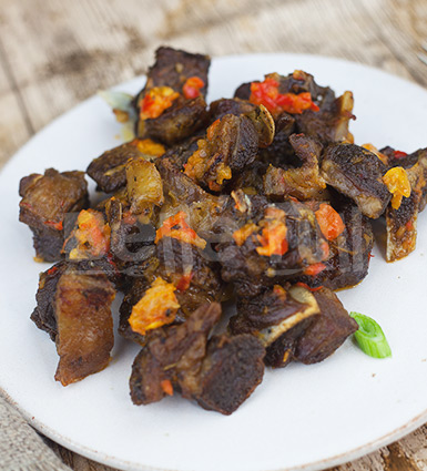 Asun Peppered Goat Meat